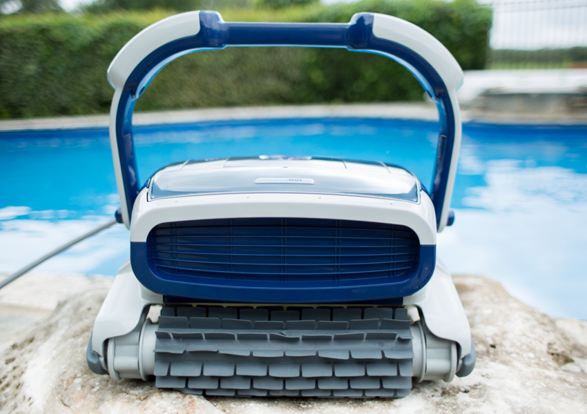 Aquabot Elite Robotic Pool Cleaner - redefine clean | PoolBots